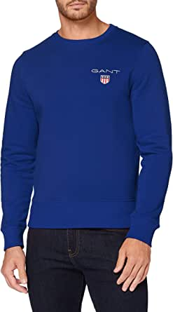 GANT D1. MEDIUM SHIELD C-NECK SWEAT heren pullover