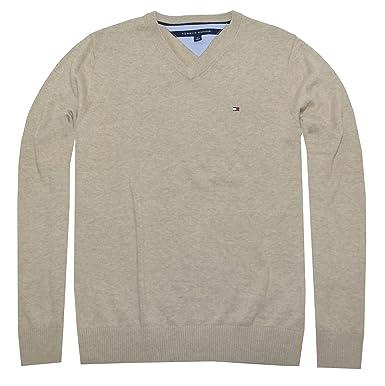 108239595d0 Tommy Hilfiger Men's Pacific V-Neck Pullover Sweater