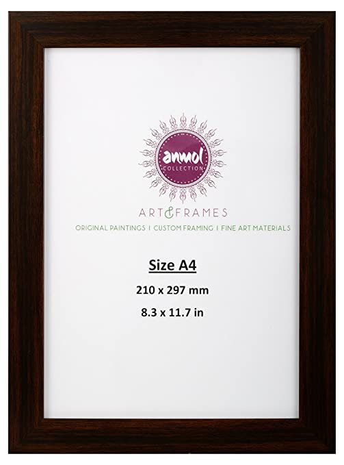 Buy Anmol Art Frames Synthetic Handcrafted Photo Frame A4 26 Cm
