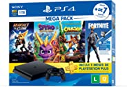Console PlayStation 4 1TB Bundle Hits Family - Ratchet and Clank, Spyro Reignited Trilogy, Crash Bandicoot N'sane Trilogy - P