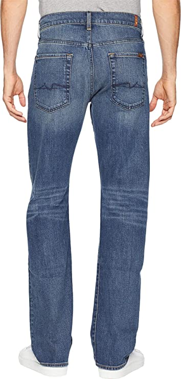 7 For All Mankind Mens Austyn Relaxed Fit Straight Leg Jeans