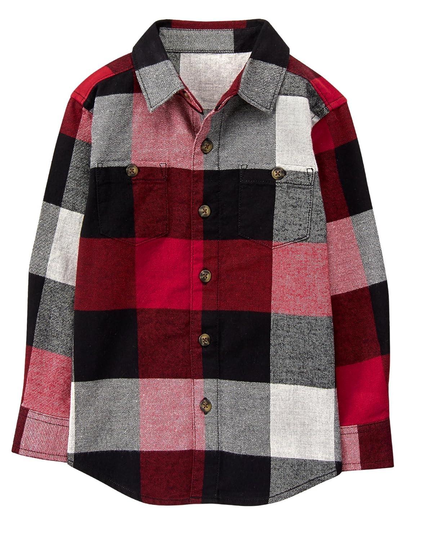 Gymboree Boys Flannel Button Up Shirt