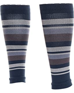 84b799eb9f Lily Trotters Women's Designer Athletic Compression Sleeve - Candy Stripe  Grey ...