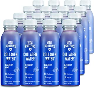 product image for Vital Proteins Collagen Water™, 10g of Collagen per Bottle & Made with Real Fruit Juice, Dairy & Gluten Free - Blueberry Mint, 16 Pack