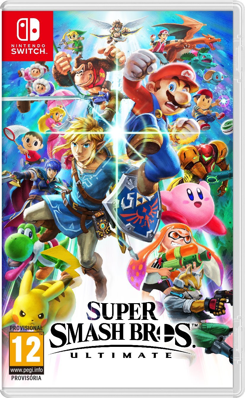 Super Smash Bros. Ultimate (Nintendo Switch) product image