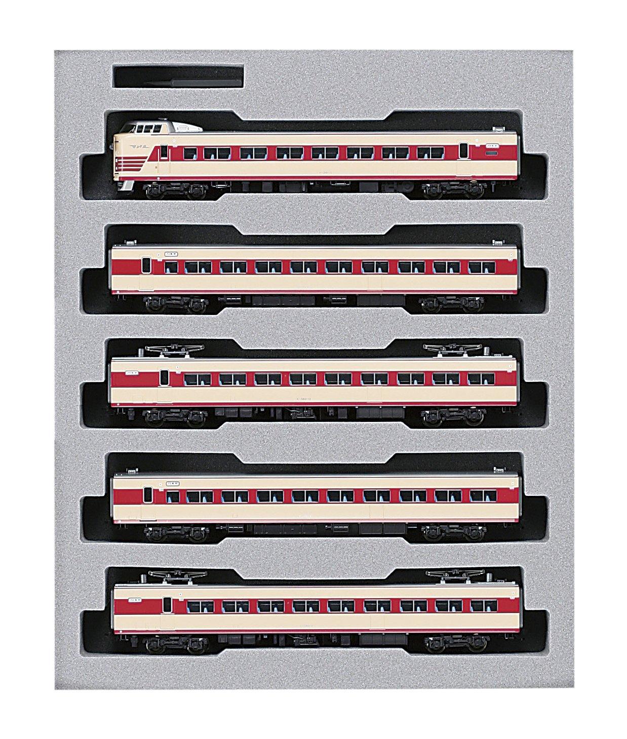 KATO Nゲージ 381系 しなの 9両セット レジェンドコレクション 10-876 鉄道模型 電車   B005JRA0M2