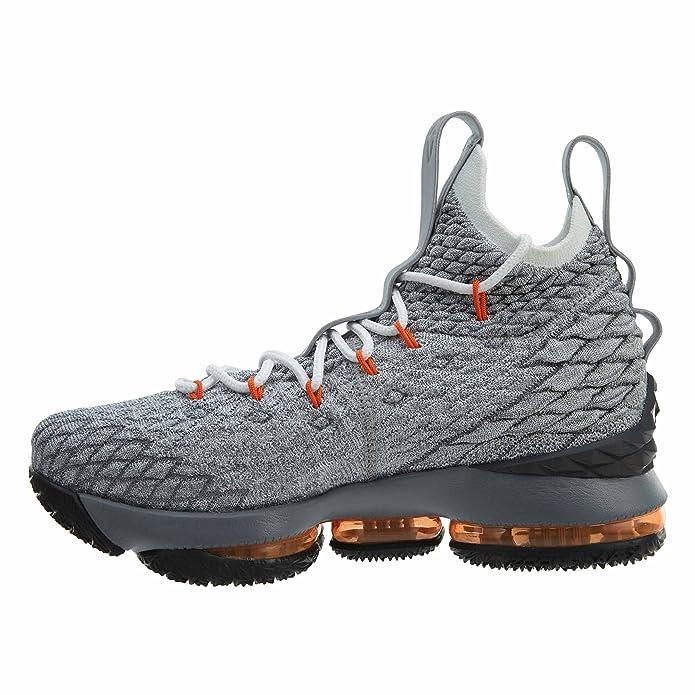 size 40 3ce06 c59a5 Amazon.com  Nike Youth Lebron 15 Boys Basketball Shoes  Shoes