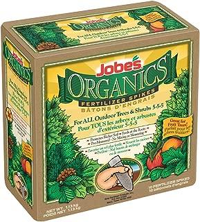 product image for Jobe's Organics Tree & Shrub Fertilizer Spikes, 10 Spikes