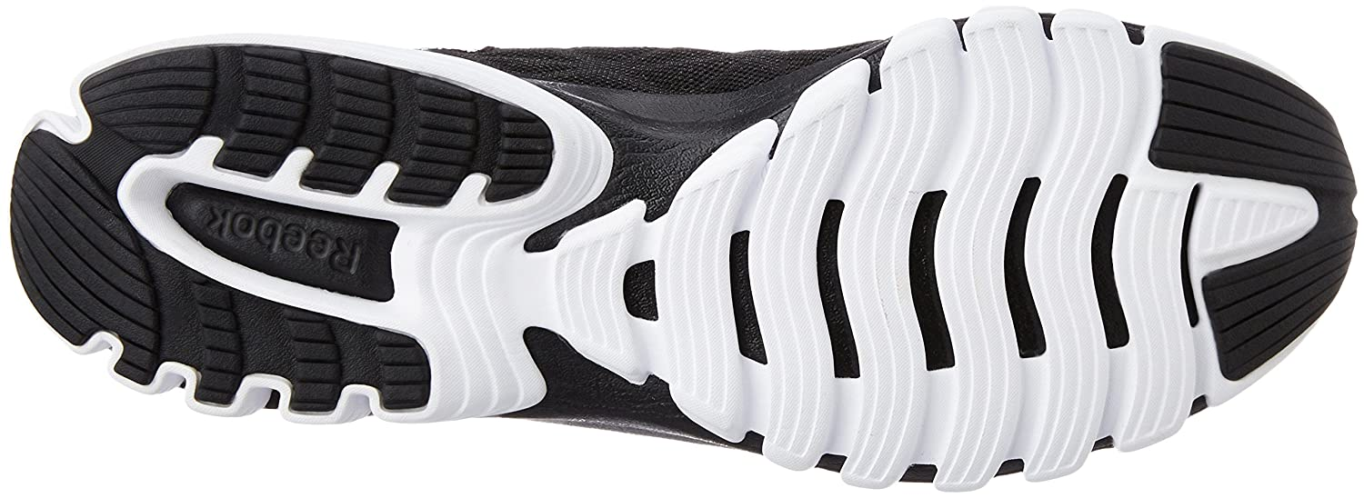 Reebok Men s Sublite Super Duo 3.0 Black and White Running Shoes - 11  UK India (45.5 EU)(12 US)  Buy Online at Low Prices in India - Amazon.in d414d8002