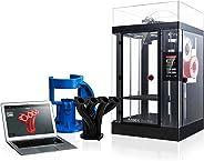 Raise3D 101017001 Pro2 Plus 3D Printer, Dual Extruder, Fully Enclosed
