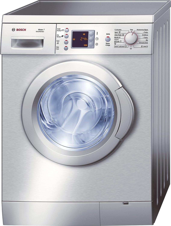Bosch WAE2449XEP - Lavadora (Independiente, Carga frontal, Acero ...