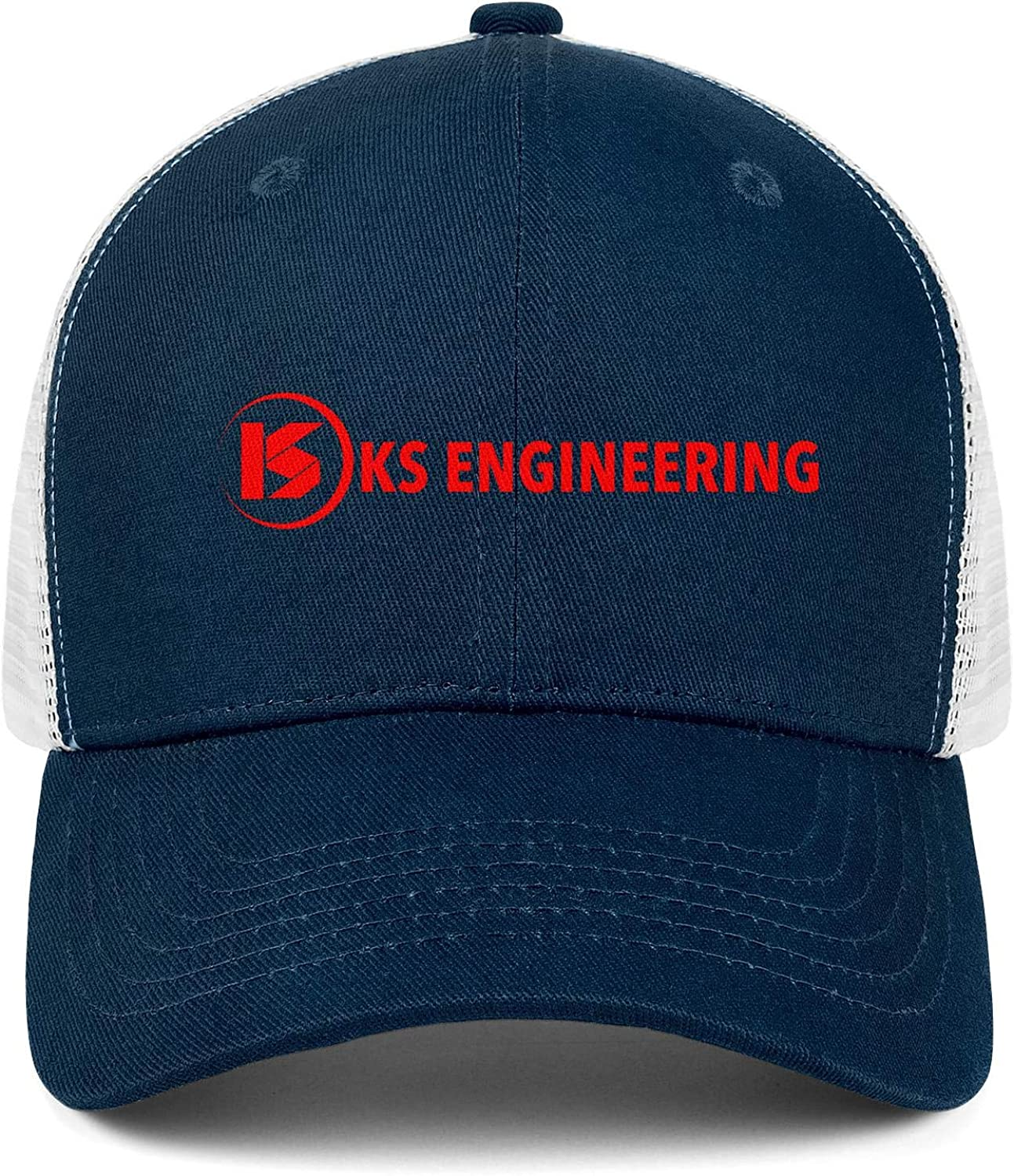 Mens Womens Mesh Back Running Trucker Hats Youth Sun Hat K/&S-Engineering