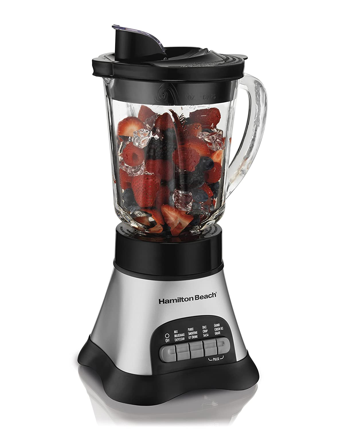 Hamilton Beach 58160 Wave Crusher Multi-Function Blender, Silver