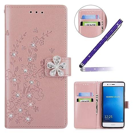 Okssud Funda Huawei P9 Lite,Carcasa Huawei P9 Lite Diamante ...
