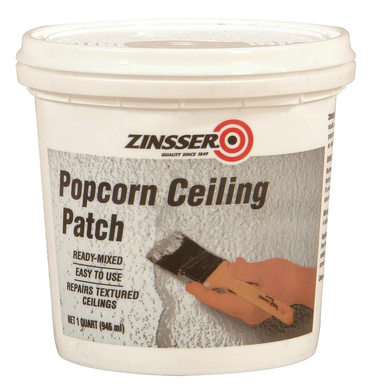 Zinsser Ready-Mixed Popcorn Ceiling Patch, 1-Quart - Ceiling Popcorn ...