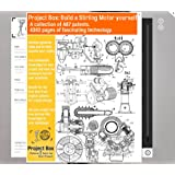 Build a Stirling motor yourself: Your project box includes 614 original patents as a fun way to reach your goal!