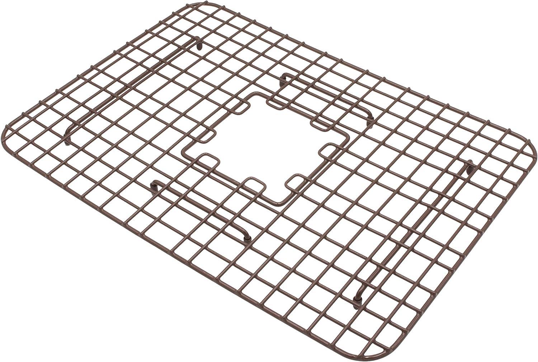 Sinkology SG011-15 SinkSense Spencer 15 x 13.05 Kitchen Sink Bottom Grid Antique Brown