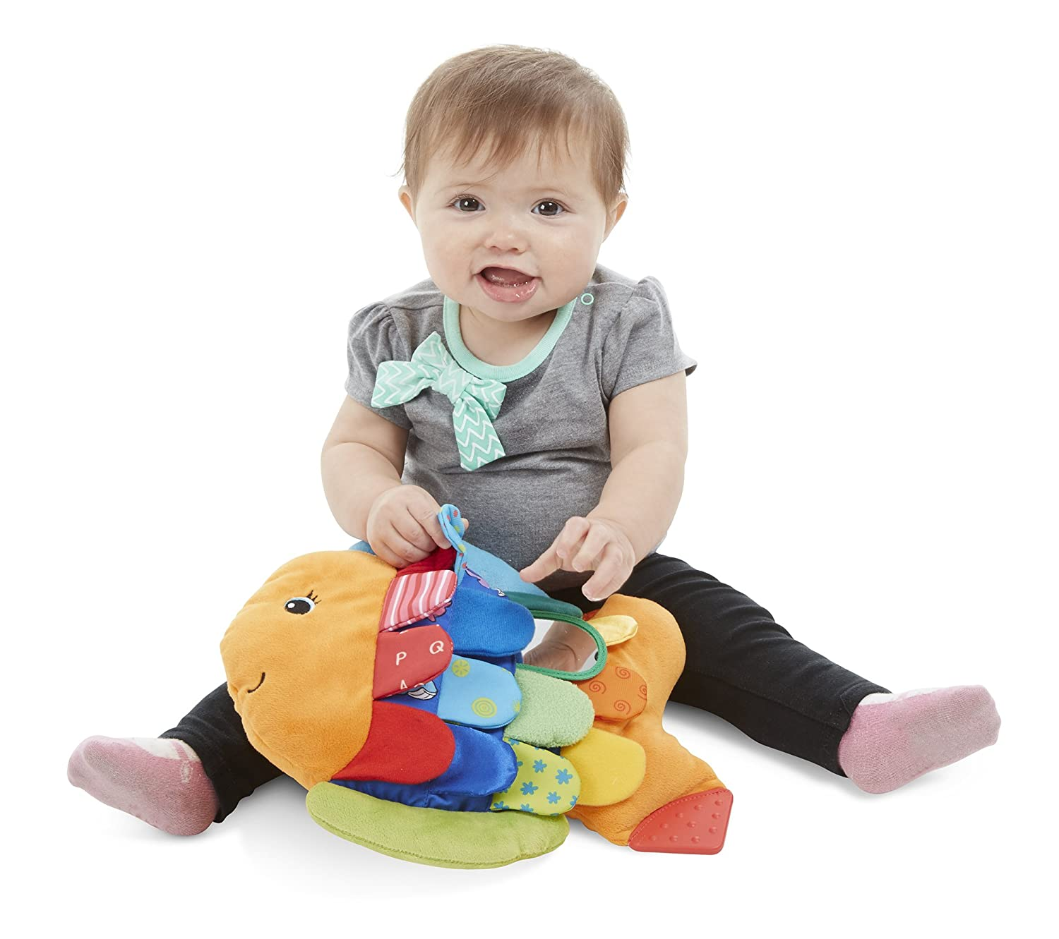 Amazon Melissa & Doug Flip Fish Soft Baby Toy Melissa & Doug