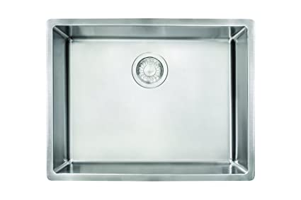 Exceptionnel Franke CUX11021 Cube 18G Stainless Steel Single Bowl Kitchen Sink