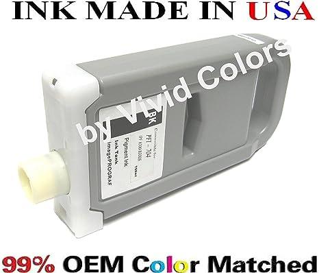 PFI-704 New Compatible ink cartridge for Canon ipf 8300 Canon PFI704 Matte Black