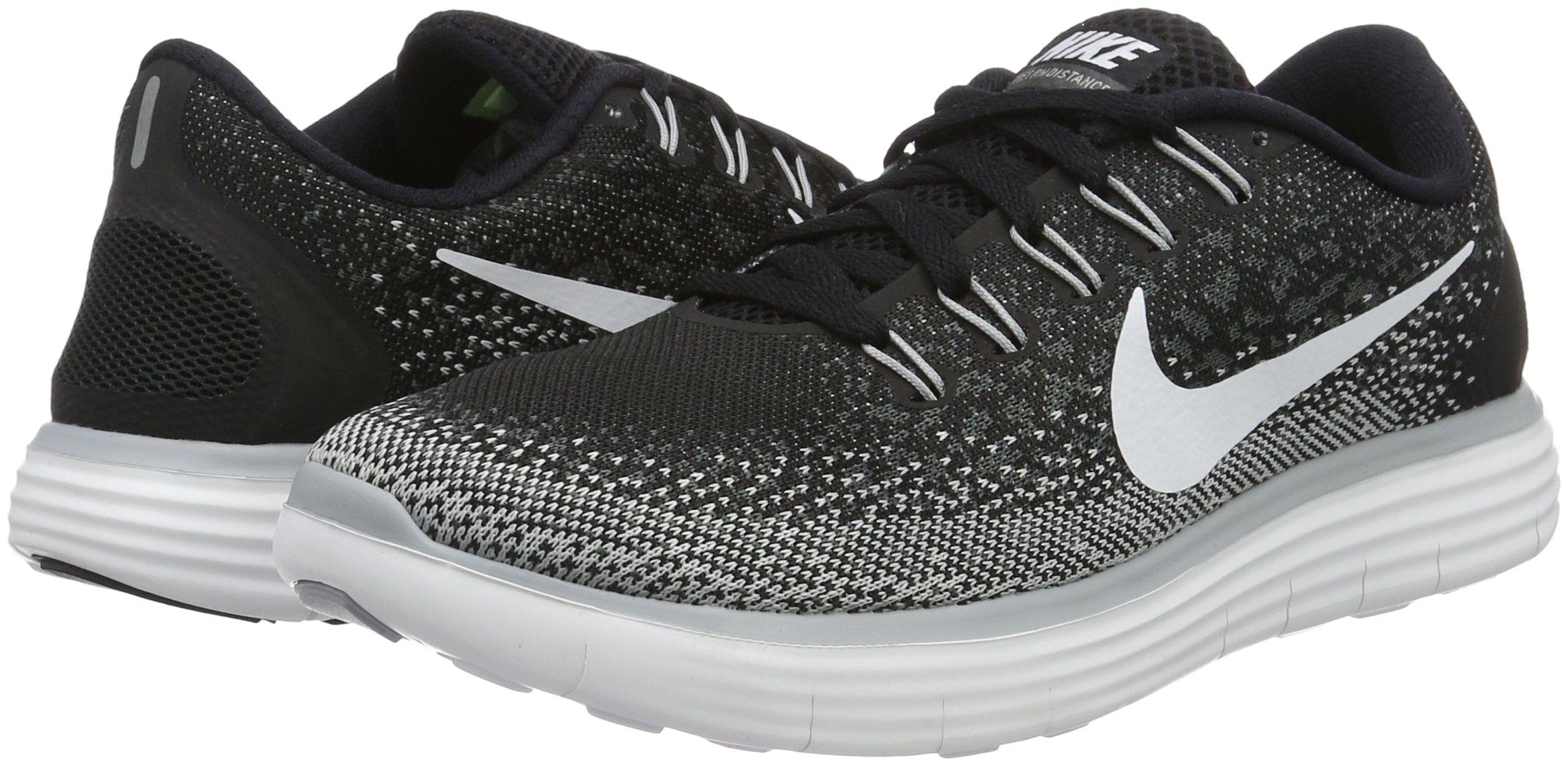 timeless design 99f46 b341e Nike Womens Free Rn Distance Running Shoe (8.5 B(M) US, Black White Dark  Grey Wlf Grey) - 827116-010 Black Dark Grey Wolf Grey White   Road Running  ...