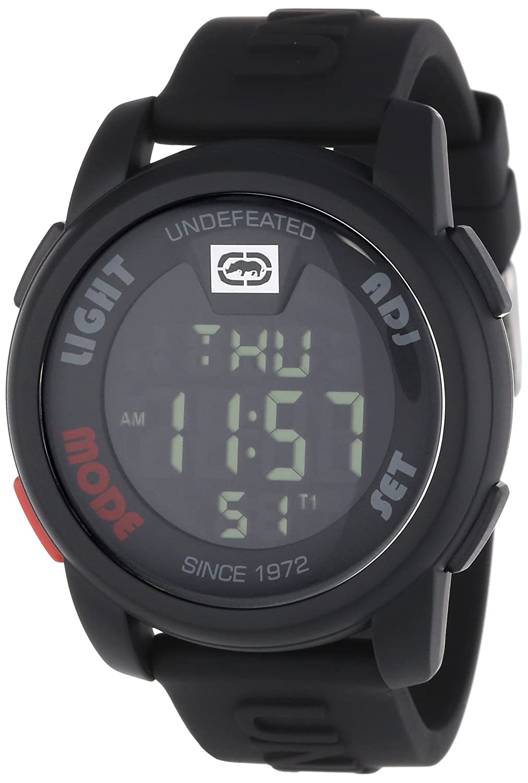 Ecko Unlimited Reloj Cronógrafo para Hombre de Cuarzo con Correa en Silicona E07503G1