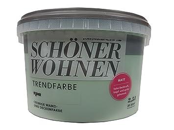 2,5L Schöner Wohnen   Trend Wandfarbe Matt Spa