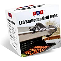 Barbecue Grill Light - BBQ Grill Light by ABI Home - 10 Super Bright LED Lights Adjustable To 3 Levels - 3 AA Batteries - FREE Screwdriver - Heat Resistant Metal Clip - 360 Swivel Head | BUY NOW!