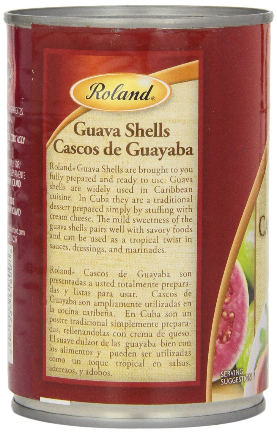 Amazon.com : Roland Guava Shells in Heavy Syrup, 14.1 Ounce : Prepared Pastry Shells : Grocery & Gourmet Food
