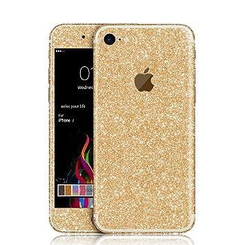 Zoonpark iphone 7 skin stickerbling glitter full body vinyl decal wrap sticker skin