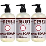 Mrs. Meyer's Clean Day Liquid Hand Soap, Cruelty Free and Biodegradable Hand Wash Formula Made with Essential Oils, Lavender