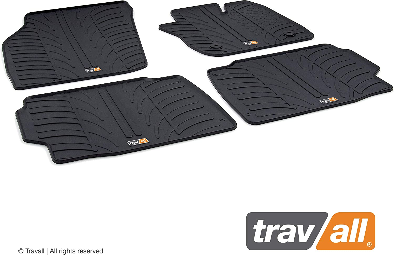 Travall Mats TRM1040R Vehicle-Specific Rubber Floor Car Mats