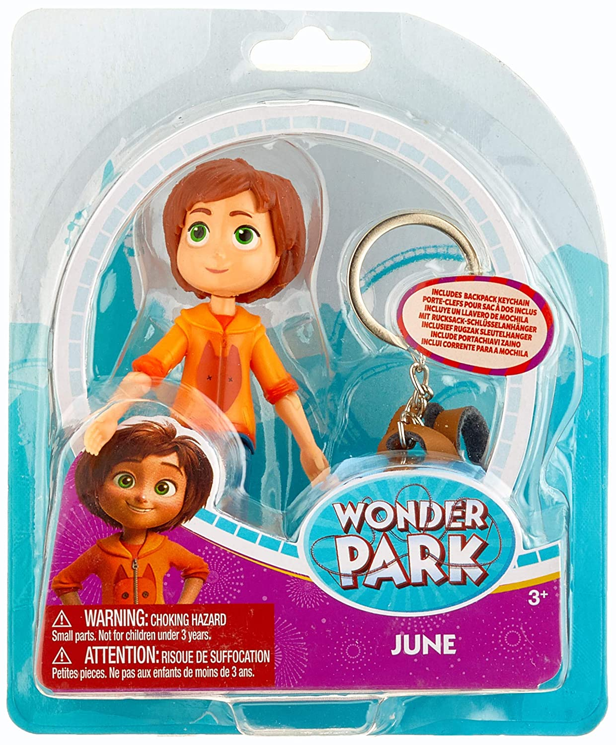 Amazon.com: Wonder Park 31038 Figure-June Playset Theme ...