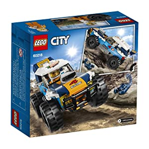 LEGO City Great Vehicles Desert Rally Racer 60218 Building Kit , New 2019 (75 Piece) (Color: Multi)