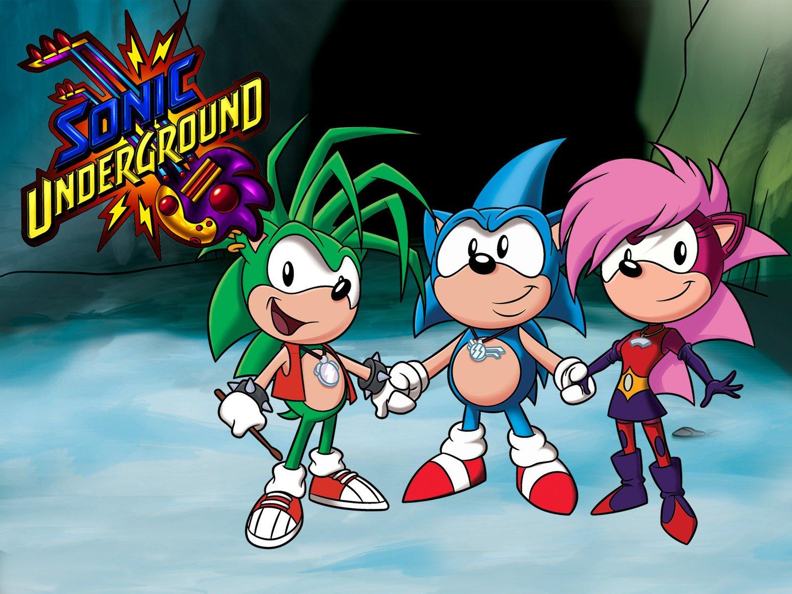 Amazon Com Watch Sonic Underground Volume 2 Prime Video