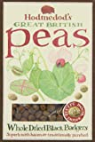 Hodmedod's Great British Peas Whole Dried Black Badgers 500 g (Pack of 4)