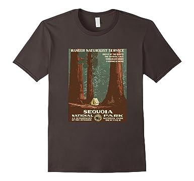 Sequoia Parco Nazionale Di Alberi T-shirt 1sh85nH