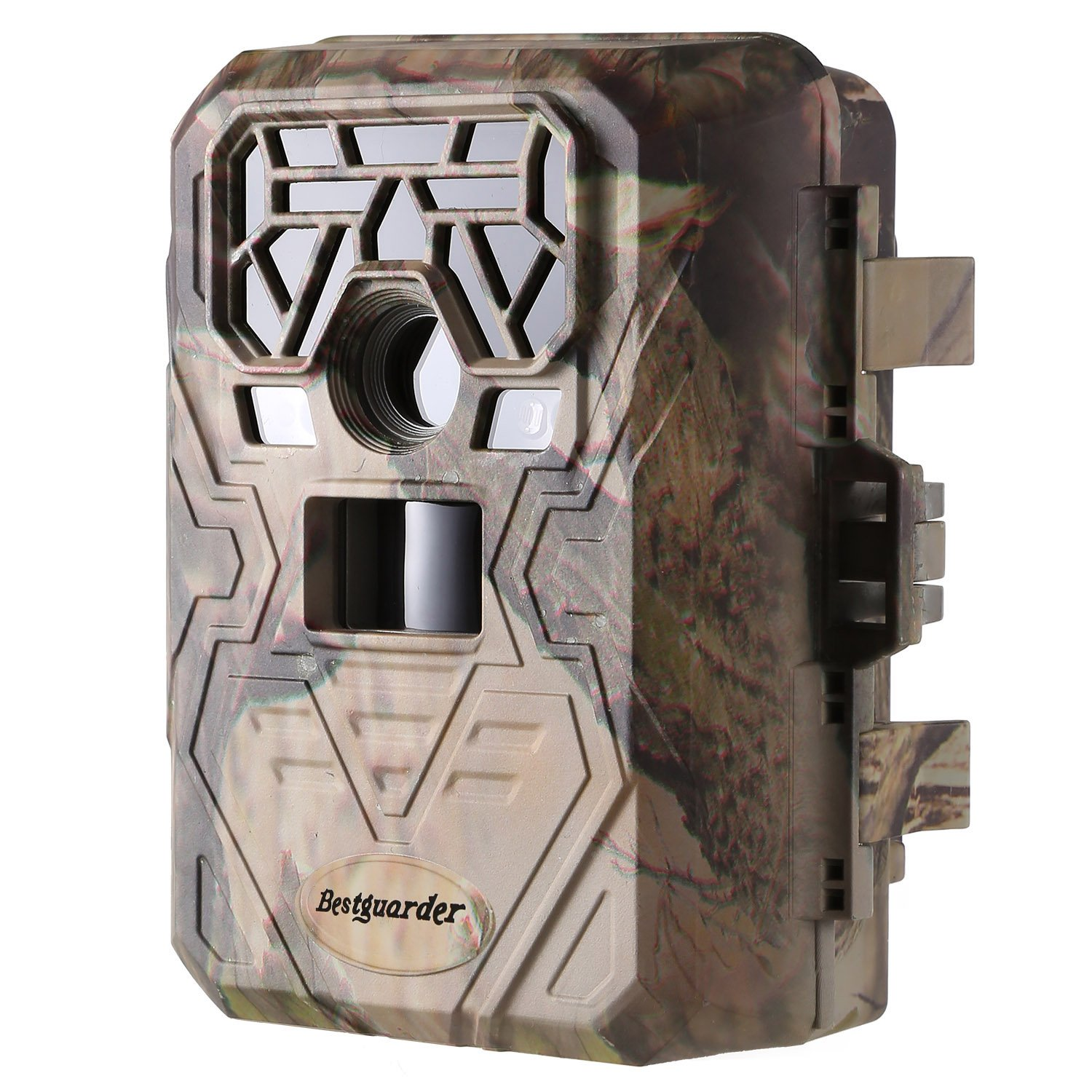 ANCHEER [2018 New] Trail Camera 12MP 1080P 75feet GPS Wildlife Hunting Motion Activated Game Camera Time Lapse with Metal Band Lock by ANCHEER (Image #1)