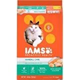 Iams Proactive Health Adult Hairball Care Dry Cat Food With Chicken And Salmon, 16 Lb. Bag