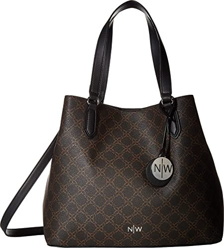 Amazon.com: Nine West Bryn Bolso para mujer, Marrón, talla ...