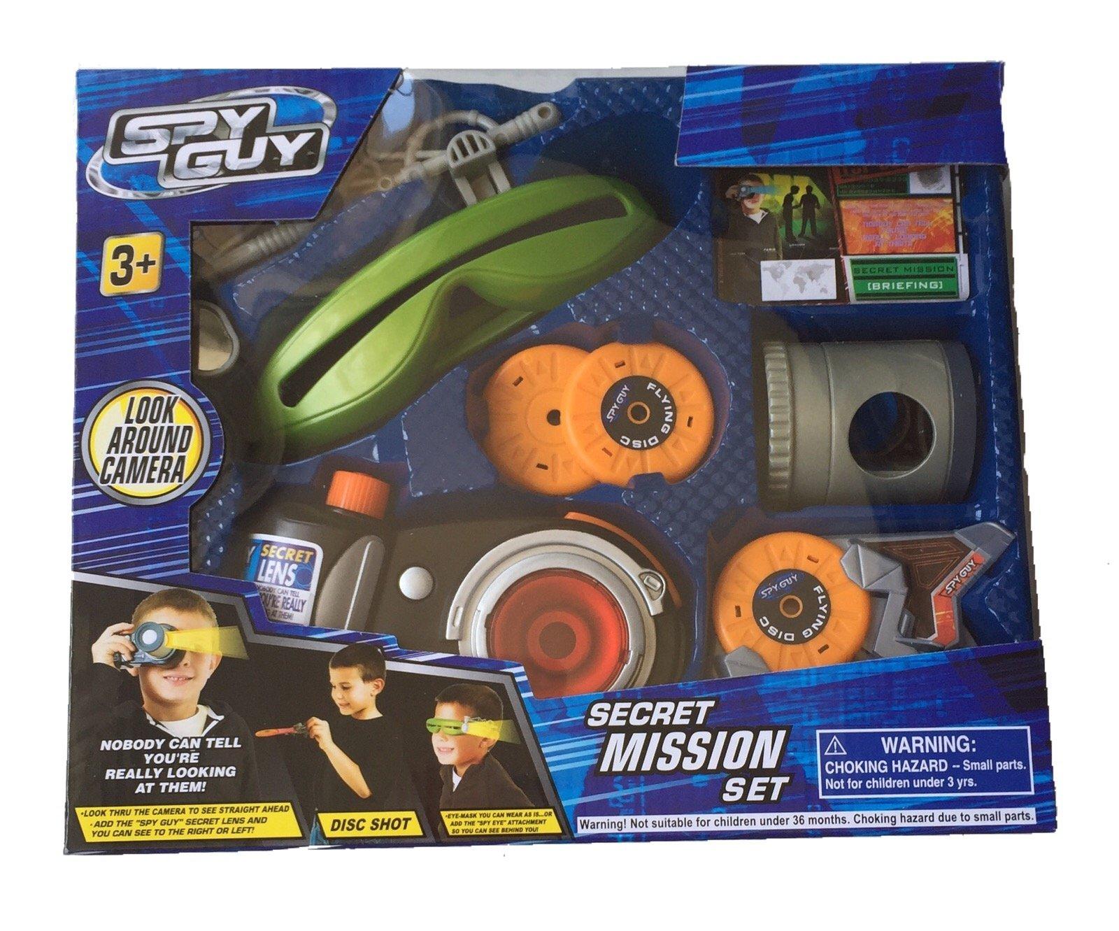 Spy Guy 10 Piece Toy Secret Mission Set with Look