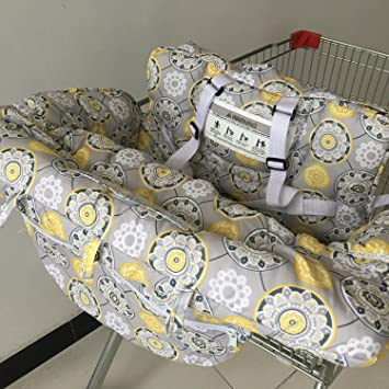 Y-Step Baby Shopping Trolley Cover Toddler 2 in 1 Highchair Cover Universal  Size Flower Pattern