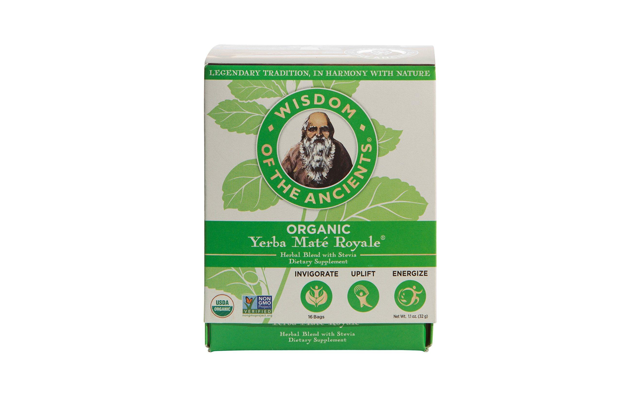 Amazon Com Wisdom Of The Ancients Yerba Mate Royale Tea