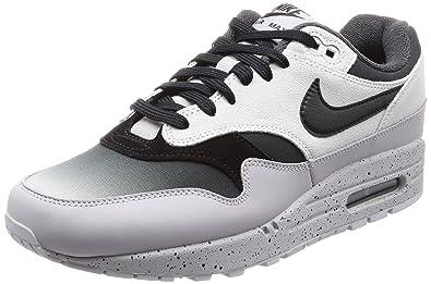 new concept d26bb 0e23f NIKE Men s AIR MAX 1 Premium Shoe Platinum Black Wolf Grey (8 D