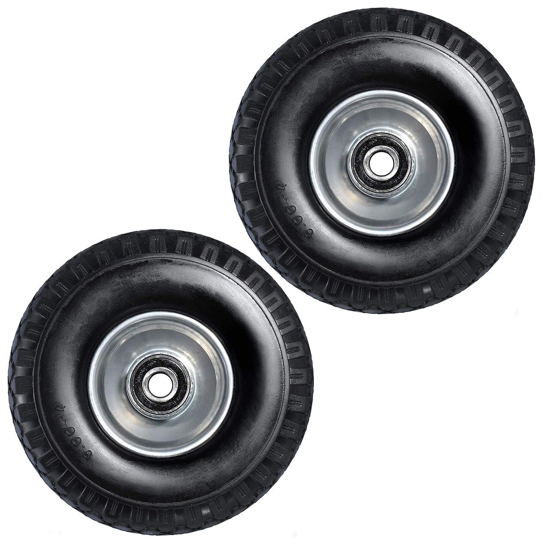 2 neumáticos de repuesto de espuma de poliuretano de 260 mm negro ...