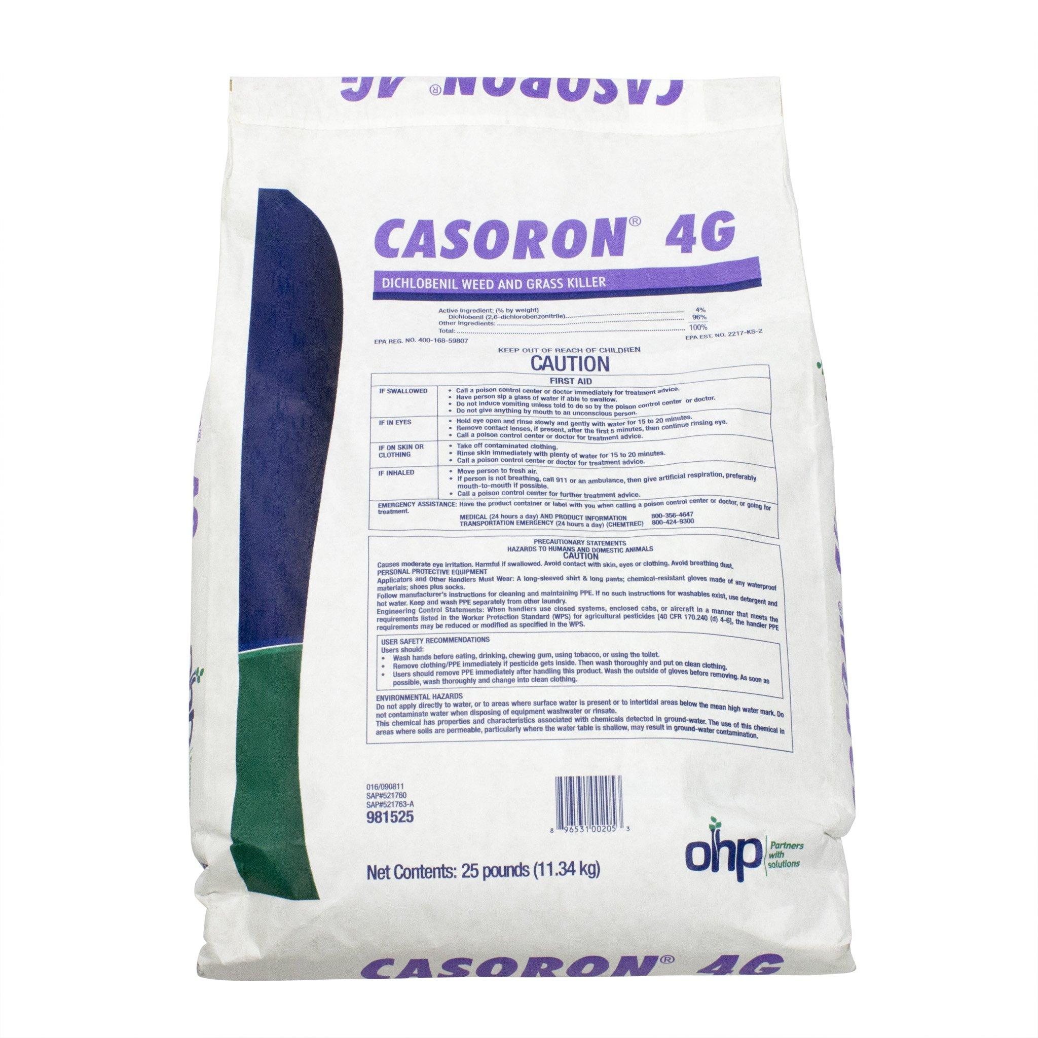 Chemtura Casoron 4G Pre Emergent Herbicide - 25 Pounds