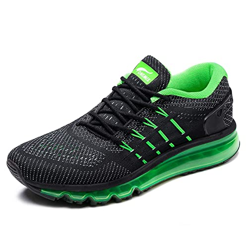 ff6ad5e51042 ONEMIX Mens Lightweight Air Cushion Gym Sports Running Shoes with Tilted  Tongue Sneakers(1155