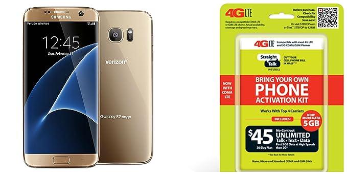 Amazon com: Straight Talk Samsung Galaxy S7 Edge
