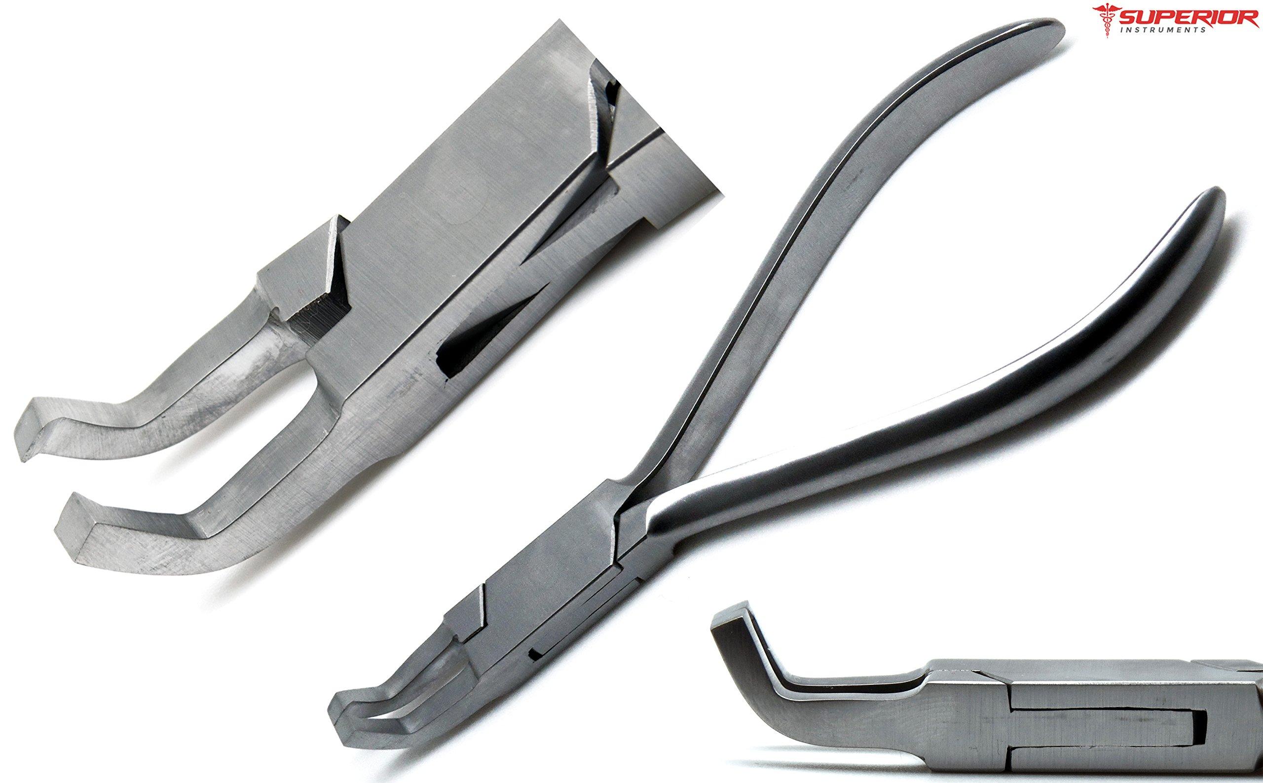 Dental Direct Angle Band 13cm Anterior Posterior Bracket Removing Pliers Orthodontics Instruments