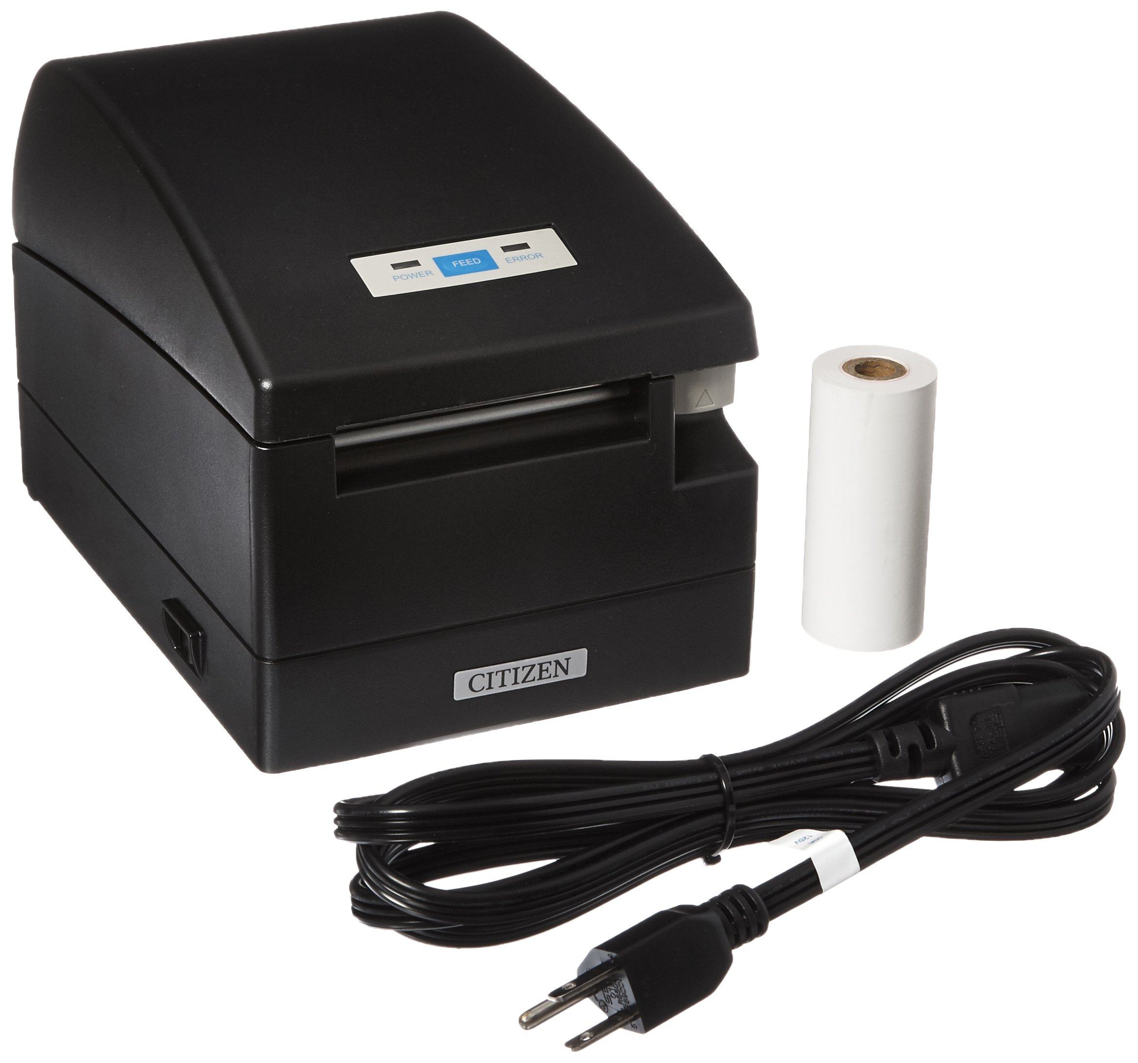 Citizen America CT-S2000UBU-BK CT-S2000 Series Hi-Speed POS Thermal Printer, 220 mm/Sec Print Speed, 42 Columns, USB, Internal Power Supply, Black